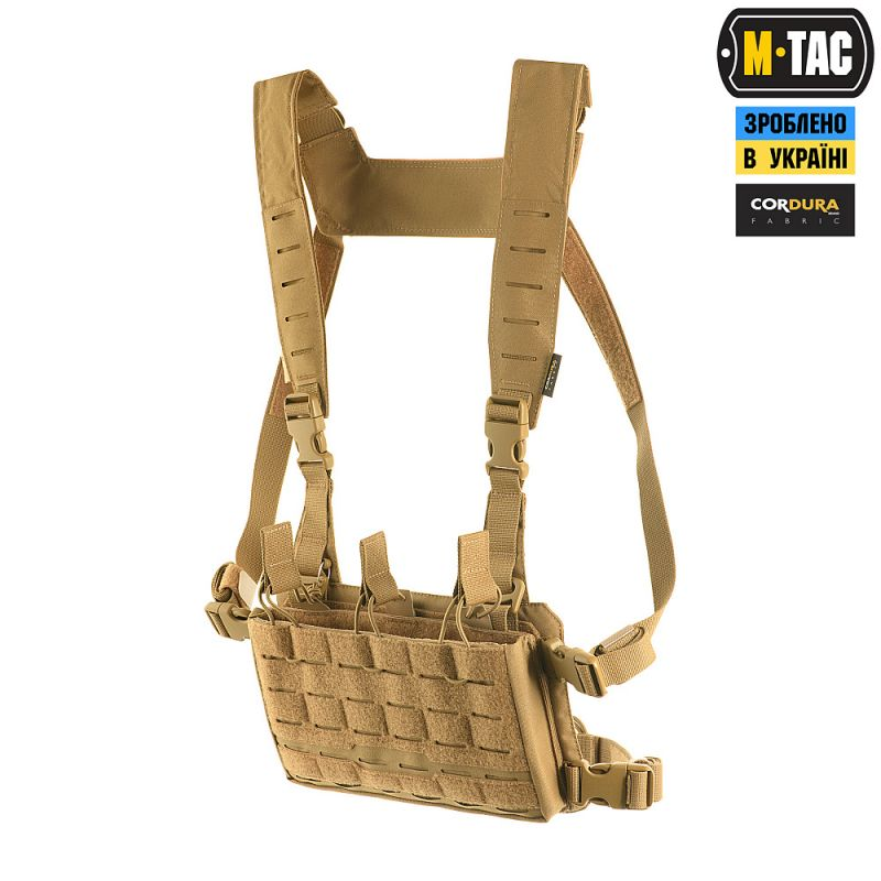 M-Tac Modular Chest Rig Coyote