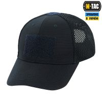 M-Tac бейсболка тактична з сіткою Elite Flex Dark Navy Blue