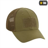 M-Tac бейсболка тактична з сіткою Elite Flex Dark Olive