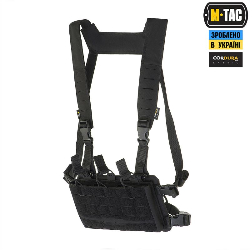 M-Tac Modular Chest Rig Black